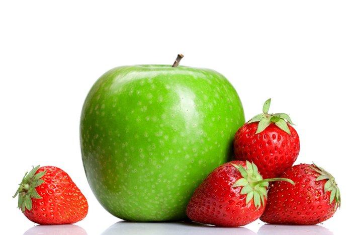 Клубника, яблоко отдушка