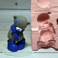 Тедди в шарфе и сапожках