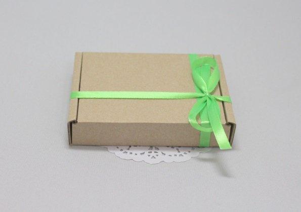 Коробка бурая под нарезное мыло 101056