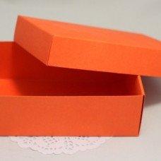 Коробка прямоуг Медиум (оранжевая) 101025