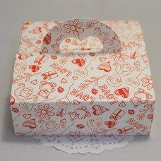 Коробка с ручкой Романтика 101023