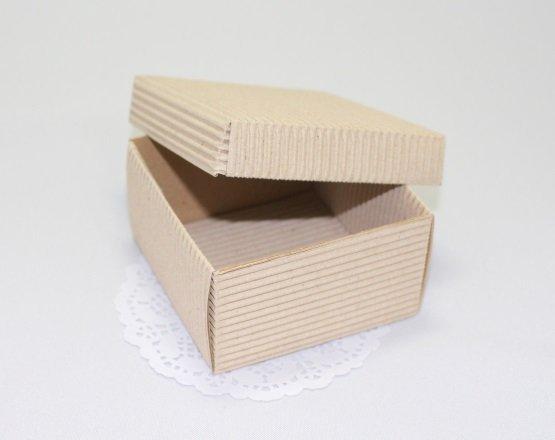 Коробочка Гофрированная с крышкой 101013