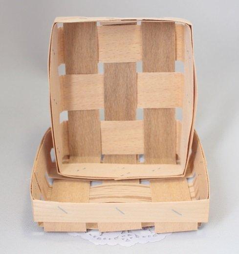 Корзинка прямоугольная 11,5х9х2,5см 101040