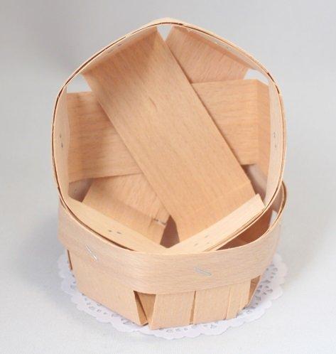 Корзинка шестигранная 9х9х4,5 101039