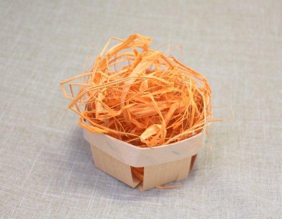 Рафия/наполнитель цвет Оранжевый