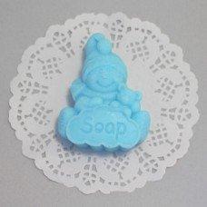 Снеговик с мишкой 2D 114060