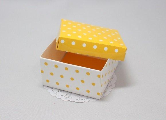 Коробка Горошек с крышкой 101015
