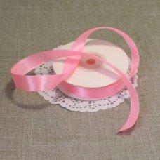 Лента атласная цвет Розовый 15 мм 102007.1