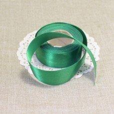Лента атласная цвет Зеленый 25 мм 102006.13