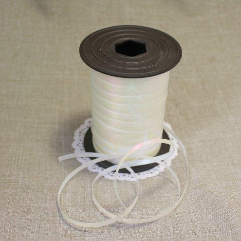 Лента цвет Белый перламутровый 5мм 102001.1