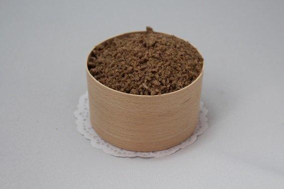 Парафин цветной Коричневый аромат Кофе с корицей 050024.1