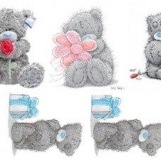Водорастворимая бумага Мишки Тедди