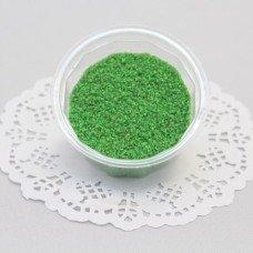 Песок для творчества зелёный