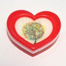 Романтичное сердце рамка