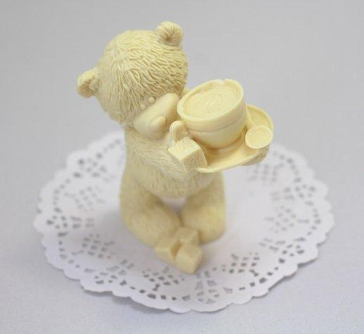 Тедди с чашкой 114225+