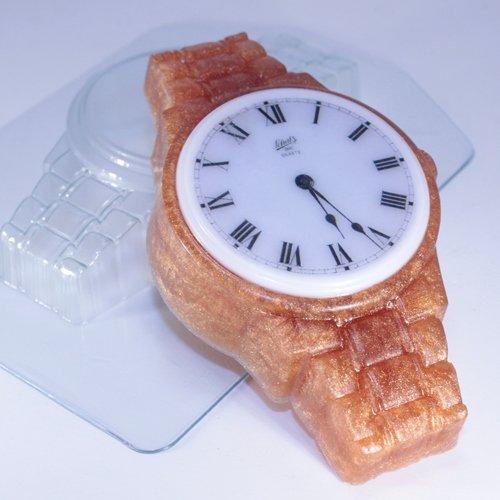 Пластиковая форма Часы наручные Металлический браслет