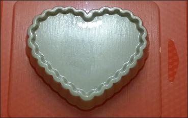 Пластиковая форма Сердце основа