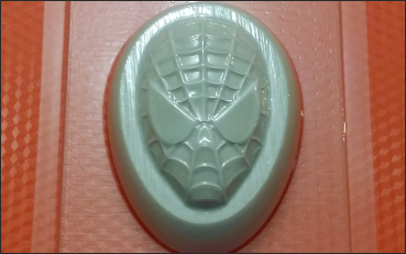 Пластиковая форма Человек паук