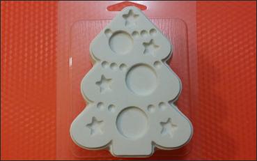 Пластиковая форма Укрась ёлку