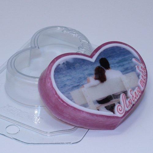 Пластиковая форма Люблю Тебя