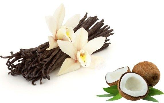 Ваниль и цветы кокоса