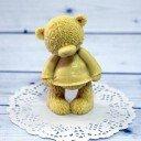 Тедди в свитере I love you