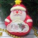 Санта с табличкой