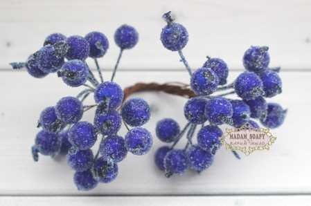 Ягоды в сахаре Синие