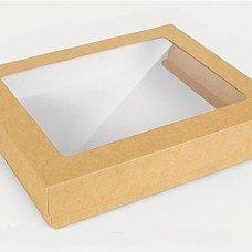 Коробка бурая под наборы 28*23*5см