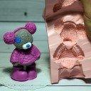 Тедди с меховыми наушниками