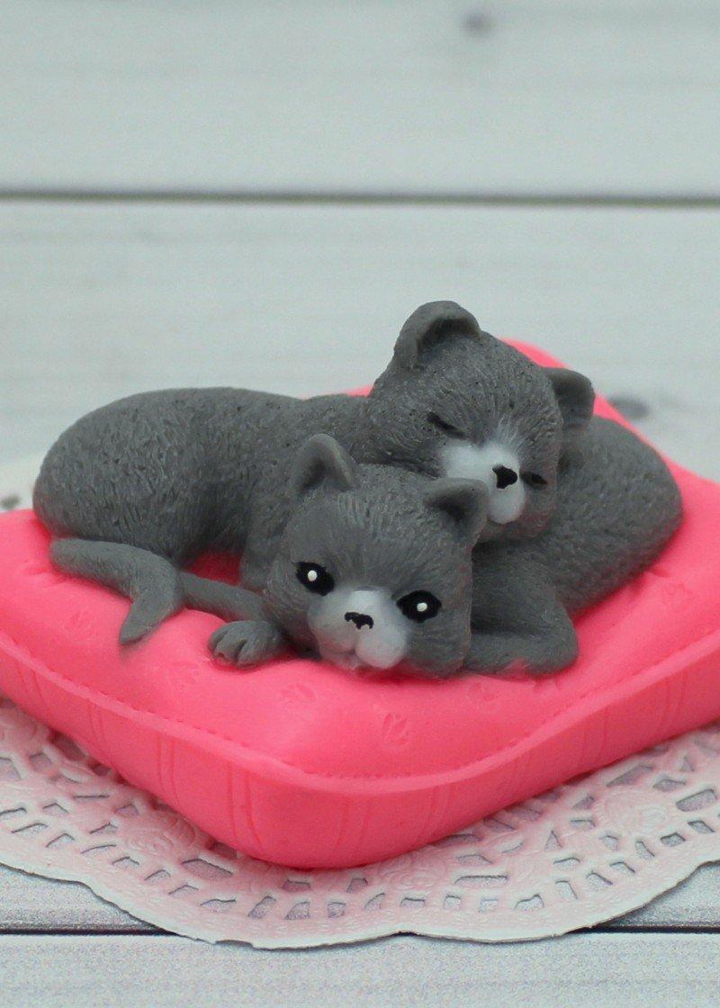 Котики На Подушке