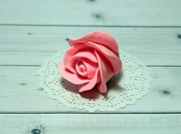 Роза Полу бутон
