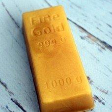 Мыло ручной работы Слиток золота