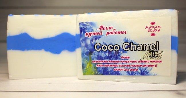 Мыло ручной работы «Coco Chanel»