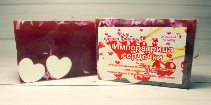 Мыло ручной работы «Императрица»