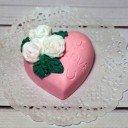 Мыло ручной работы Сердце I love you