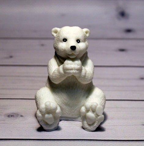 Мыло ручной работы Белый Мишка