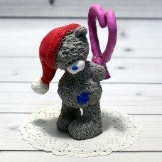 Мыло ручной работы Мишка Тедди с карамелькой