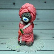 Мыло ручной работы Мишка Тедди в халате