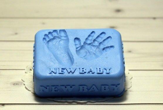 Мыло ручной работы New baby