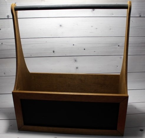 Ящик с Мелованной Табличкой длинный