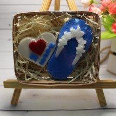 Набор мыла Вьетнамок, Сердце Я люблю море