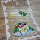 Пакет новогодний (снеговик)