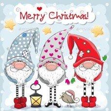 Merry Cristmas 2 бирочка декоративная