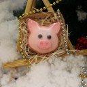 Мыло Свинка ушки торчком в коробке