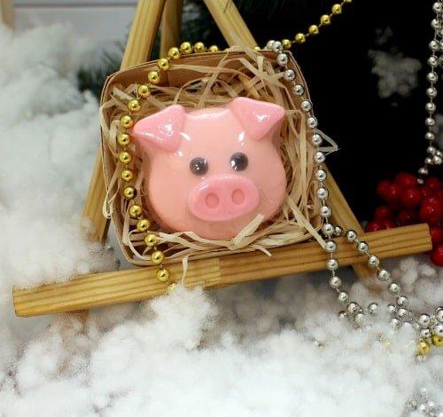 Мыло Свинка ушки в коробке