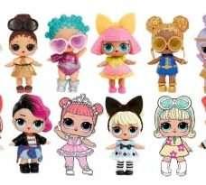 куколки ЛОЛ на конфетки