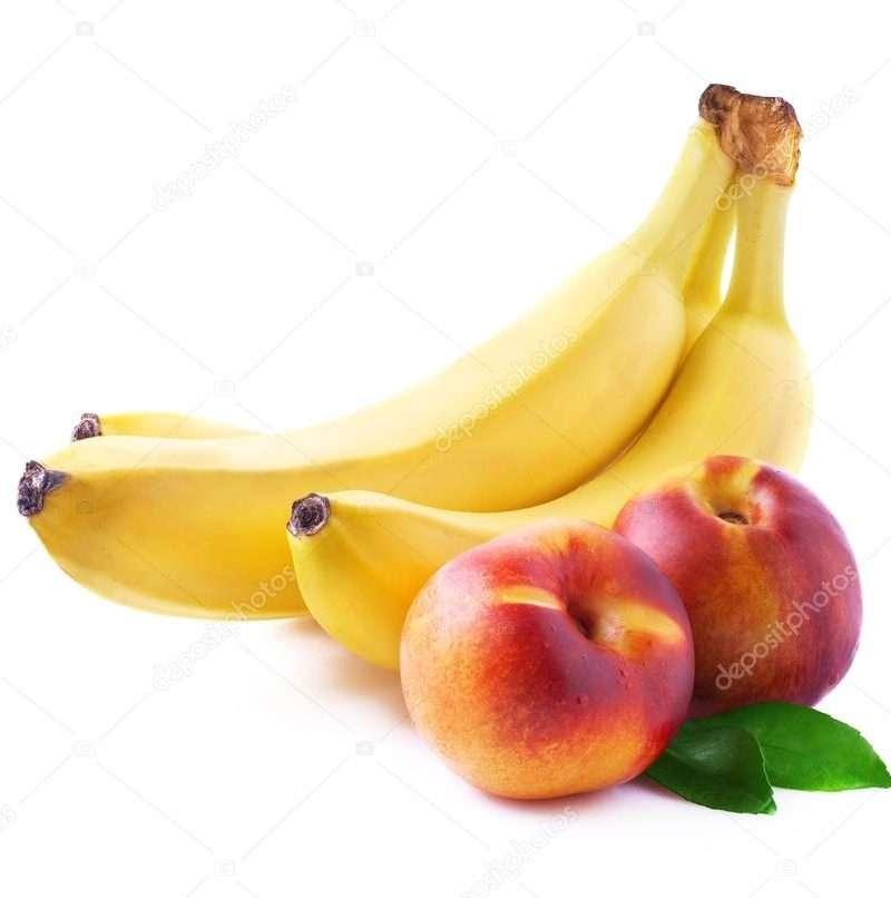 персик банан