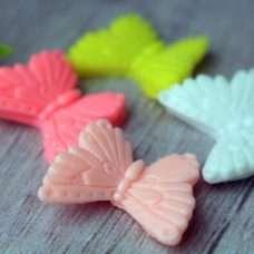 Бабочка для цветов Силикон 3Д
