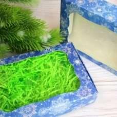 Коробка Снежинка Синяя